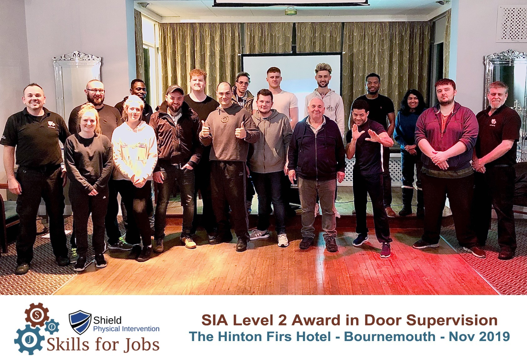 Bournemouth - SIA Level 2 Award in Door Supervision - November 2019