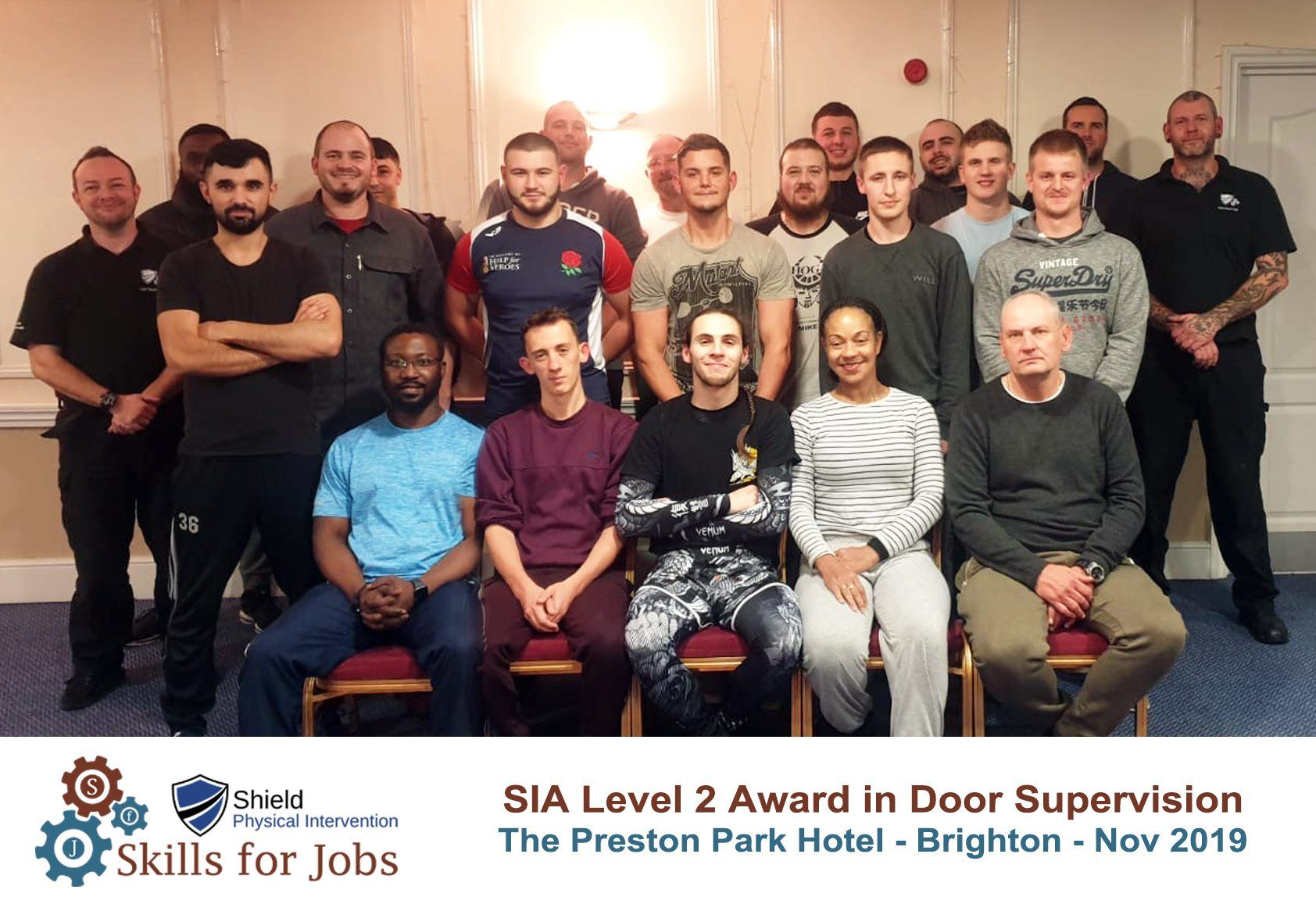 Brighton - SIA Level 2 Award in Door Supervision - November 2019