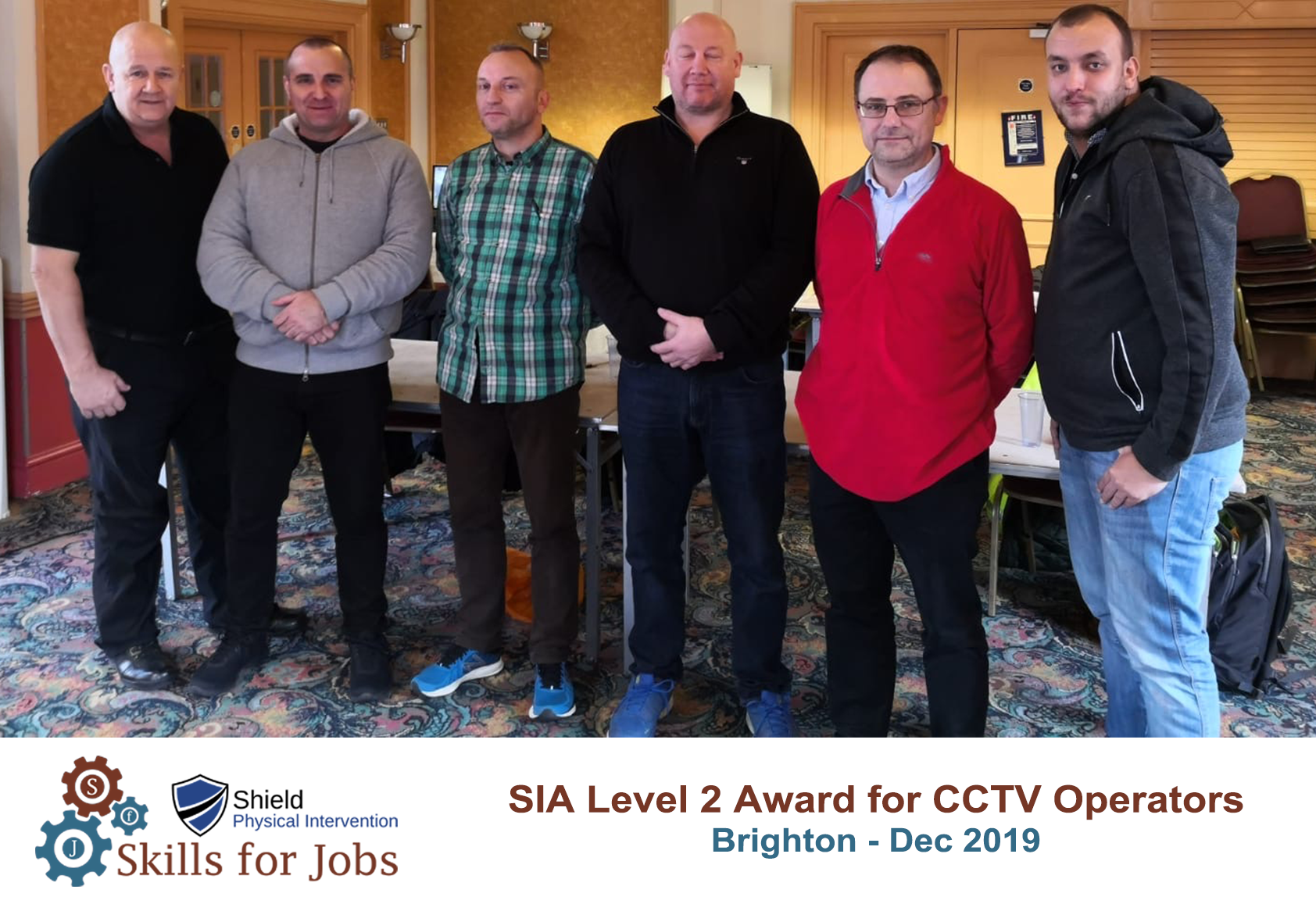 Brighton - SIA Level 2 Award for CCTV Operators - Dec 2019