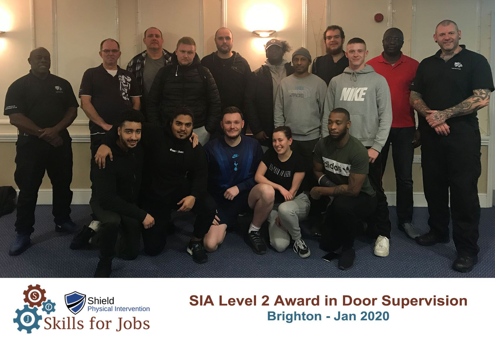 Brighton Door Supervisors course January 2020