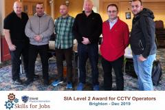 Brighton - SIA Level 2 Award for CCTV Operators - Dec 2019