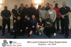 Brighton Door Supervisors course January 2020