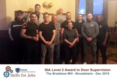 Broadstairs - SIA Level 2 Award for Door Supervisors - December 2019