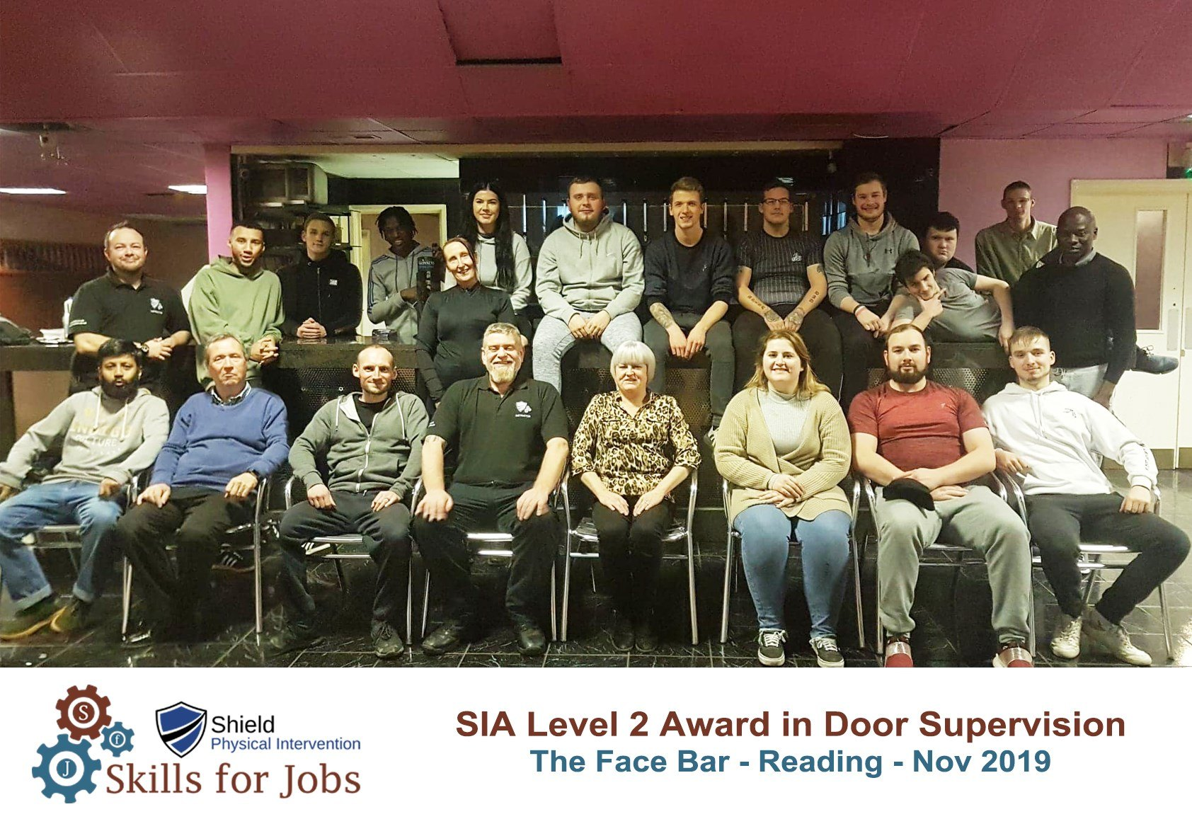 Reading - SIA Level 2 Award for Door Supervisors - November 2019