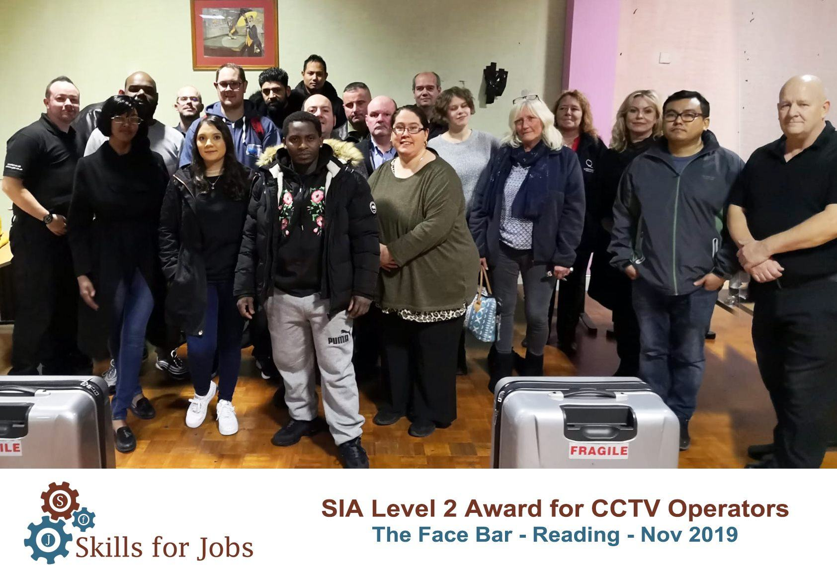 Reading - SIA Level 2 Award for CCTV Operators - November 2019