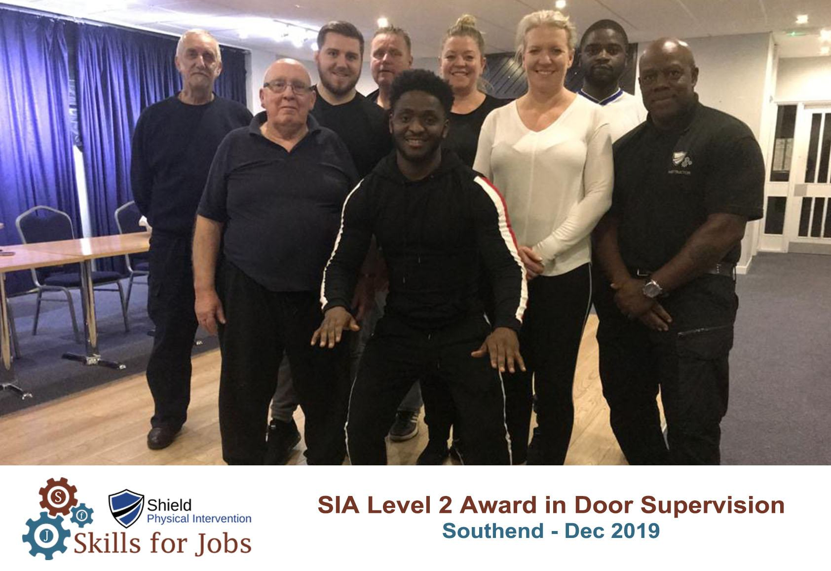 Level 2 Door Supervisor Course in Southend, December 2019