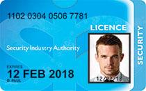 SIA Security License